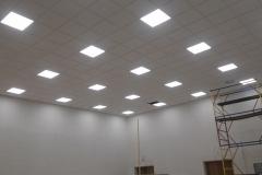 Светильники в зале