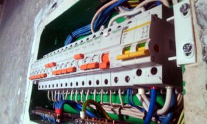 Монтаж электропроводки в квартире ЖК Акварель